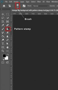 pattern stamp in photoshop