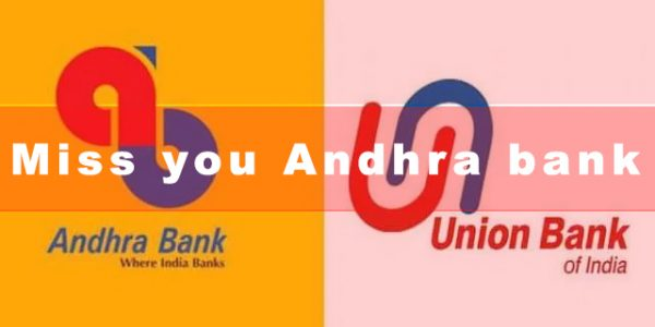 Andhra bank is merged with Union bank
