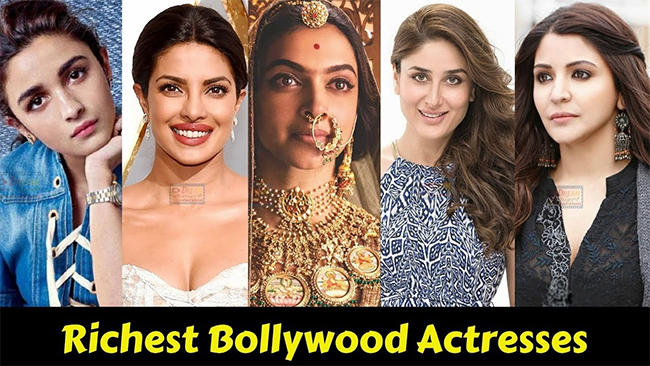 Who is Richest bollywood actress in 2020