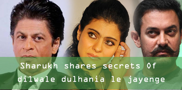 Photo of Sharukh shares secrets Of dilwale dulhania le jayenge and kajal