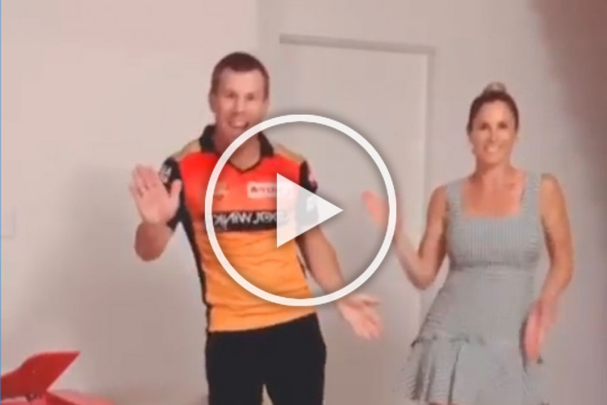 Photo of david warner dance for buttabomma
