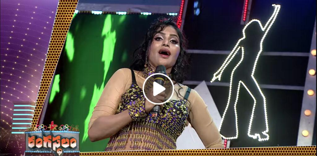 Rangasthalam Dance show,