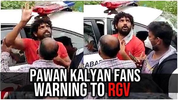 Pawan fans attack on varma