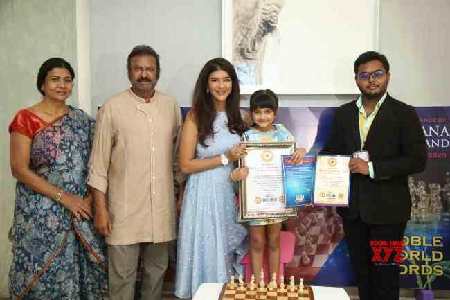 Manchu Lakshmi's daughter Vaidyanirvana is a rare record