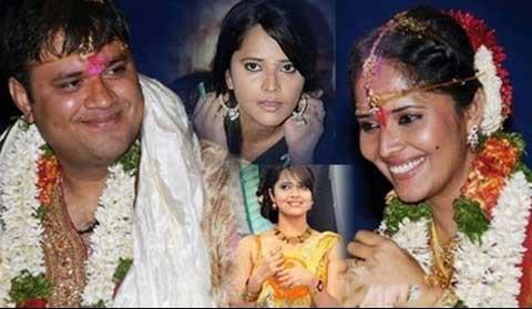 Anasuya Bharadwaj Family