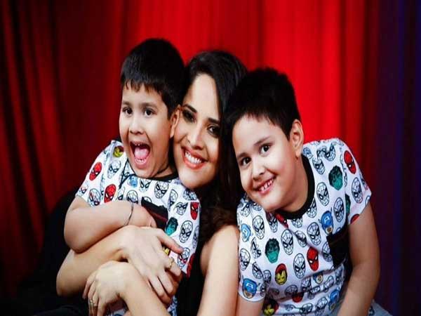 Anasuya Bharadwaj Childrens